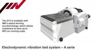 Electrodynamic vibration test system, A74, IMV