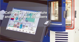 Calibration of temperature  and climate test chambers
