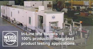 In-Line test tunnels