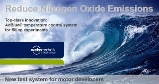 Reduce nitrogen oxide emissions, AdBlue temperature control system, Weiss