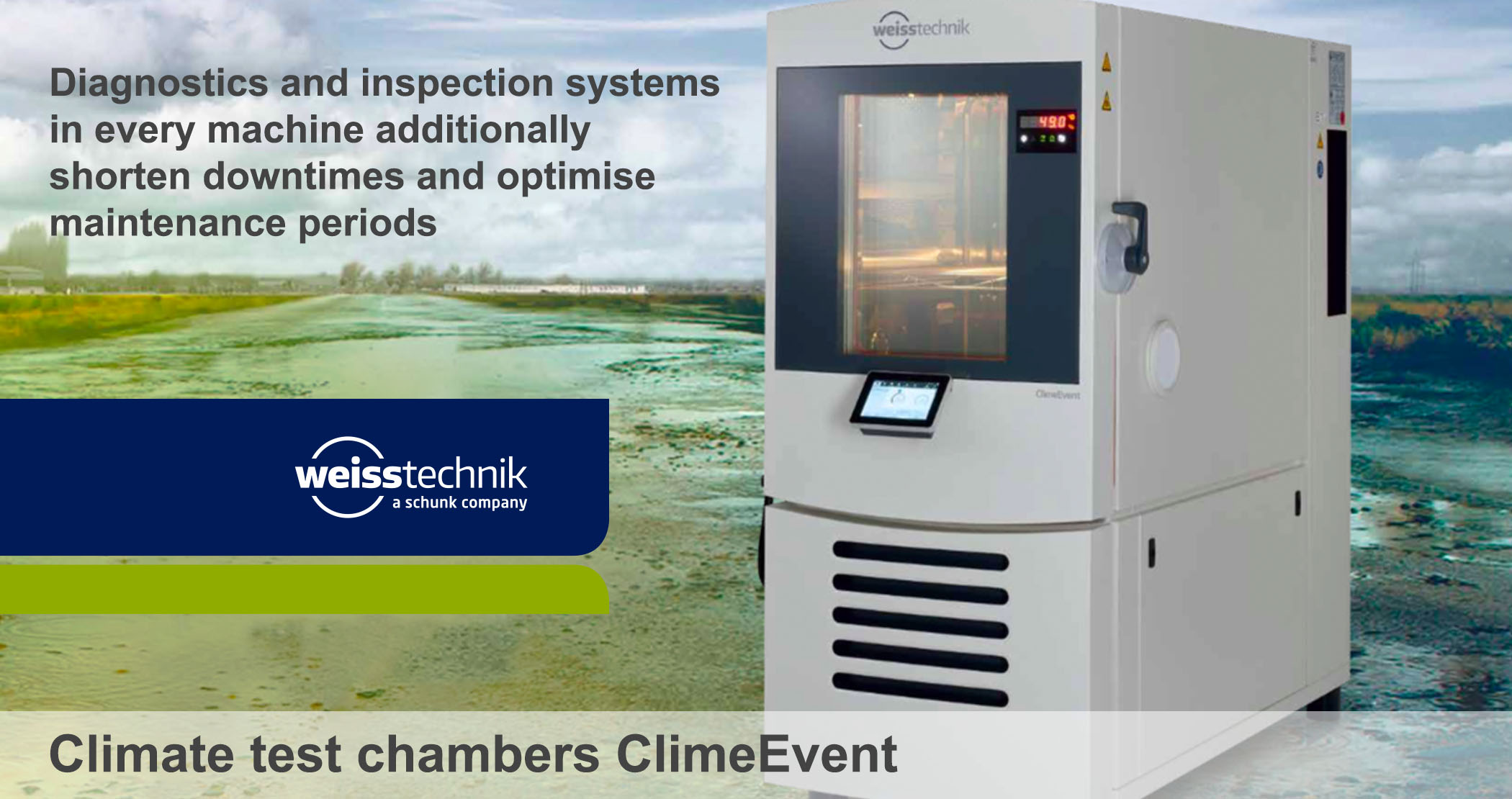 Climate test chambers ClimeEvent_Maintenance, Weiss