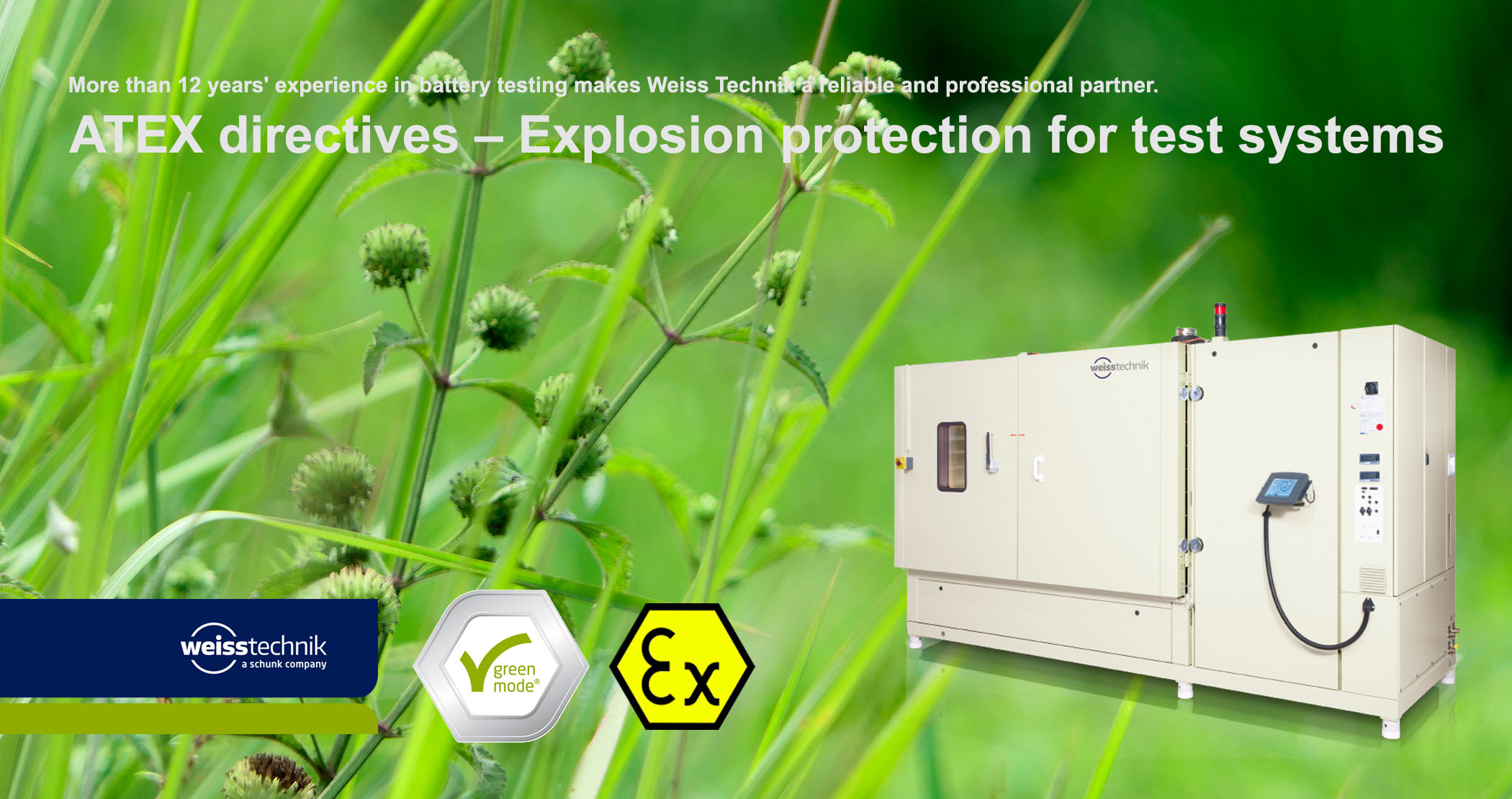 ATEX directives_Explosion protection_Battery testing