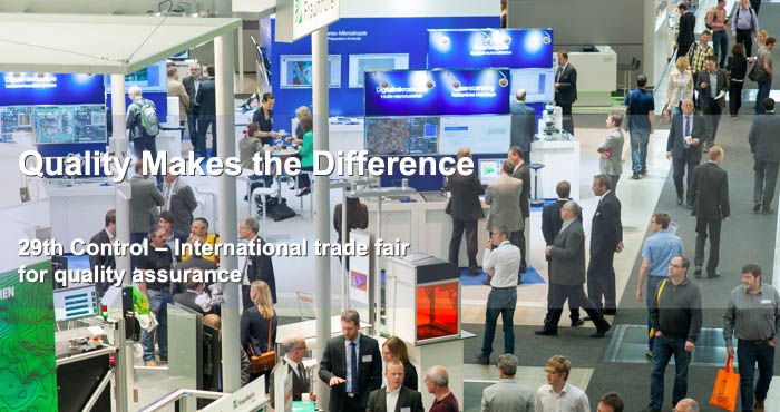 Control, international trade-fair for quality assurance, 2015
