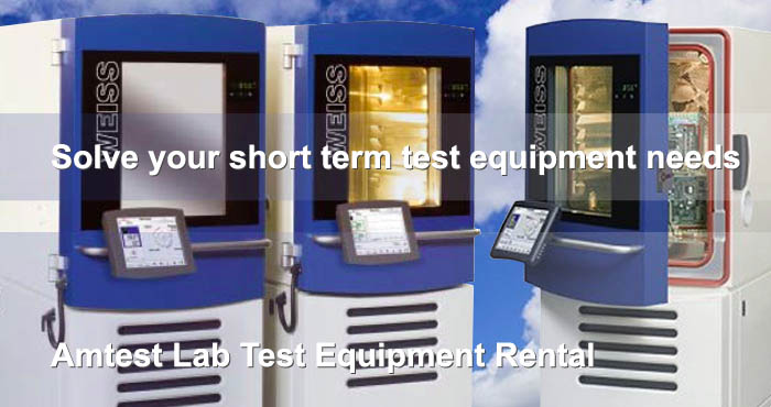 Test Lab, test equipment rental