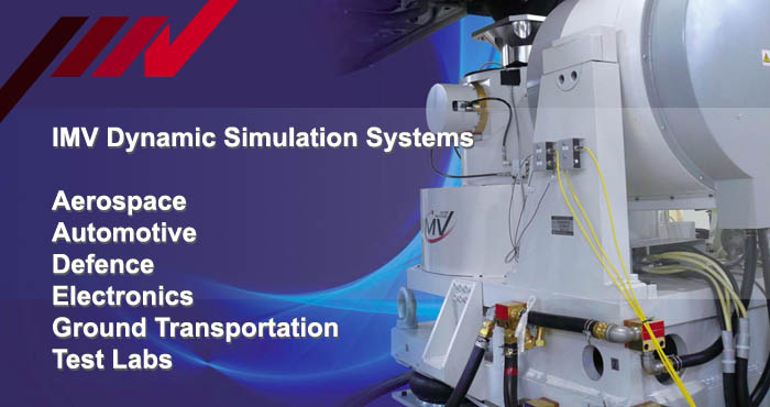 IMV vibration test system, areas of application