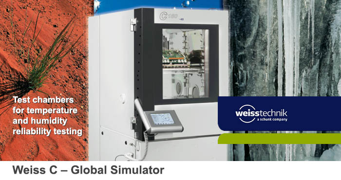 Weiss-C, climate test chambers
