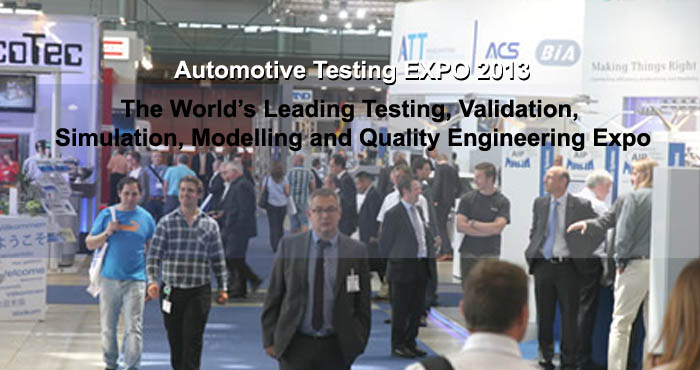 Automotive Testing Expo 2013