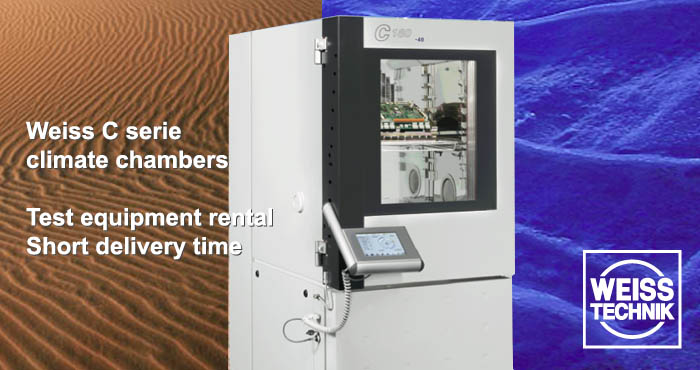 Weiss C serie, climate chamber, rental